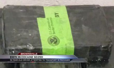 $187K of Cocaine Seized at Gateway International Bridge