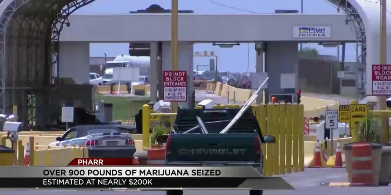 CBP Seize 911 Pounds of Narcotics at Pharr Bridge