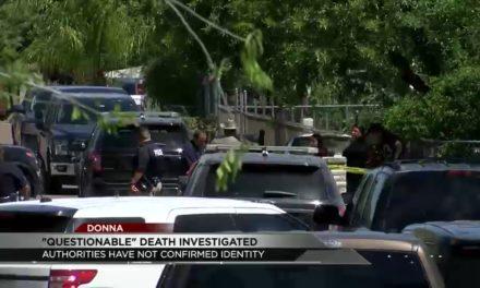 Donna Law Enforcement Investigate 'Questionable' Death