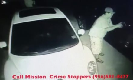 Mission Car Parts Thief caught on camera