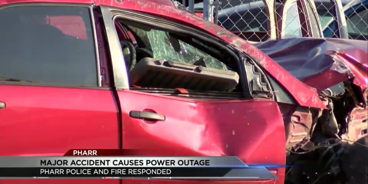 Pharr Accident Causes Power Outage