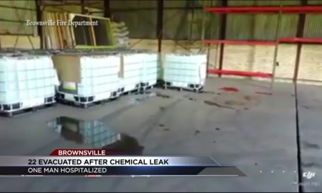 Toxic Chemical Leak sends one to hospital