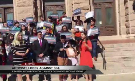 Undocumented Families Lobby Against Anti-Sanctuary City Bill