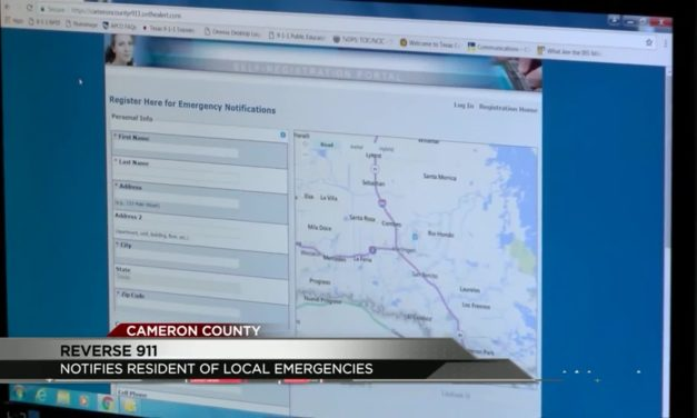 Cameron County encourages residents to use Reverse 9-1-1 System