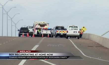 UPDATE: Weslaco Accident Boy Recuperating at home now