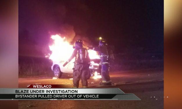 Vehicle Blaze under investigation