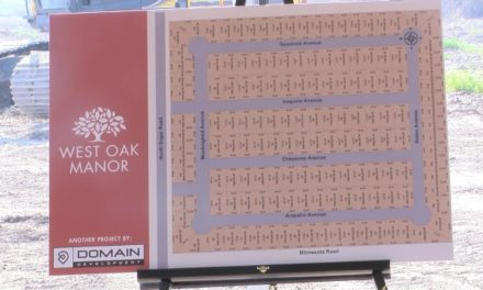 Pharr West Oak Manor Subdivision construction underway