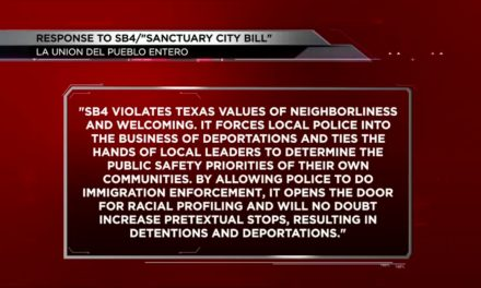Local Organizations React to Passing of SB4