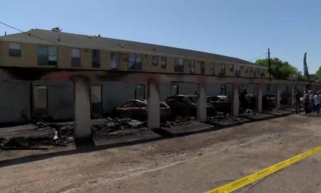 Arrest Made in Mercedes Blaze That Destroyed 13 Vehicles