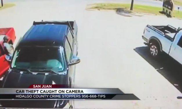 Help San Juan Police Find Car Burglar