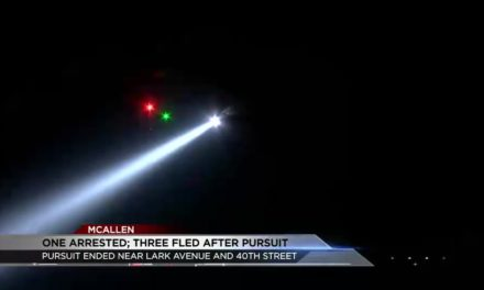 One Arrested; Three Wanted After Leading Police on Pursuit