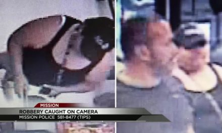 Two Wanted in Mission for Robbery of Business