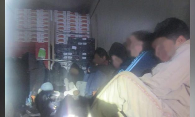 Undocumented Immigrants found trapped inside refrigerated trailer