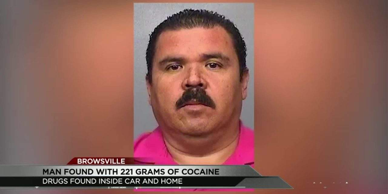 Cocaine Found During Traffic Stop in Brownsville