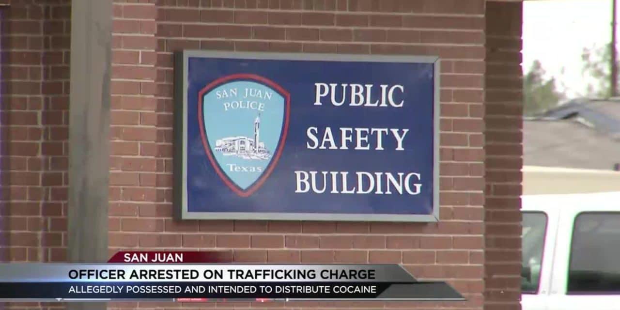 San Juan Police Officer Arrested for Drug Trafficking