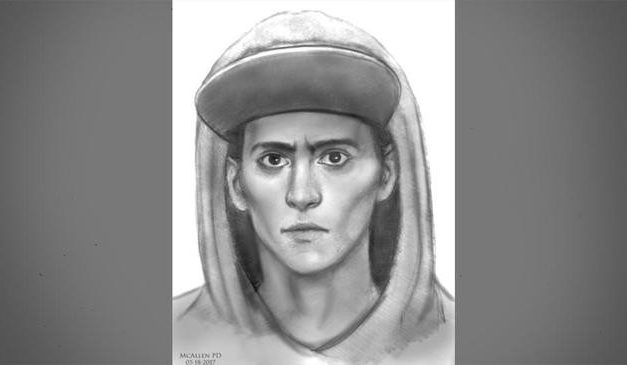 McAllen Police Release Sketch of Wanted Man