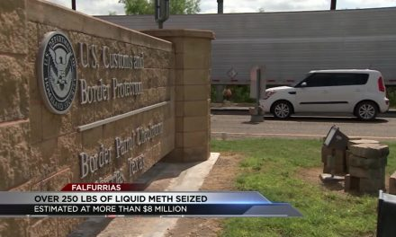 Eight Million dollars worth of Liquid Meth Seized