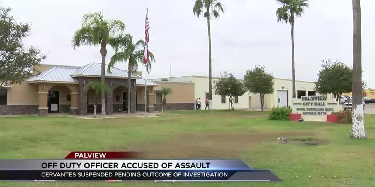 Off-Duty Palmview Police Officer Allegedly Assaults Girlfriend