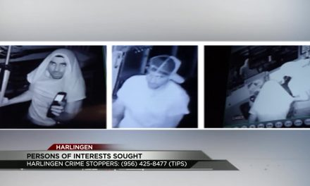 Harlingen Police Search for 2 Robbery Suspects
