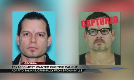 Top Ten Texas Fugitive Caught