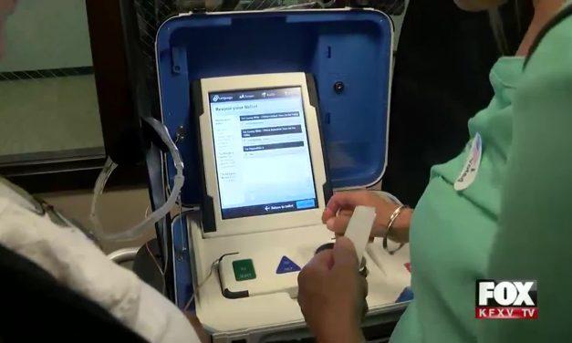 Hidalgo County Unveils New Voting Machines