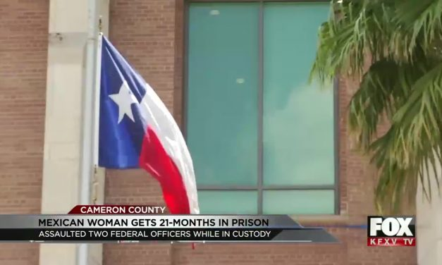 Mexican Woman Heads to Prison for Assault Federal Officers