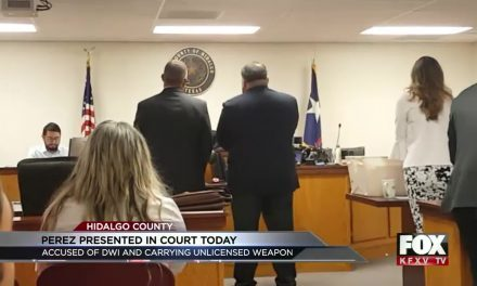 Court Bailiff Heads to Court for Alleged DWI