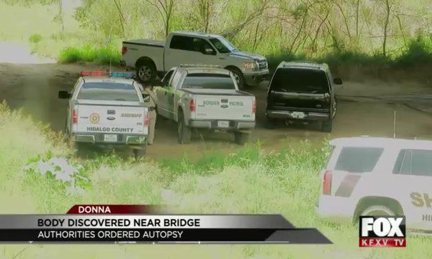 Body found beneath the Donna International Bridge