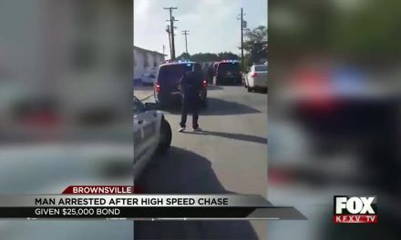 Man Leads Brownsville Police on High Speed Chase