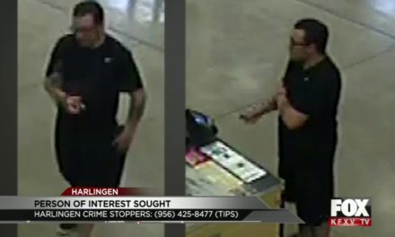 Harlingen Police Want Your Help in Finding this Person of Interest