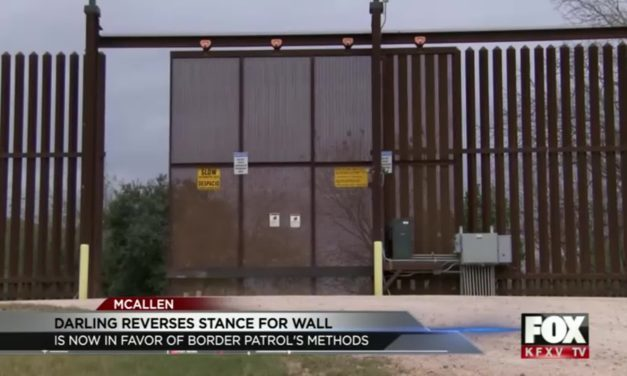 Darling Reverses Stance for Border Wall