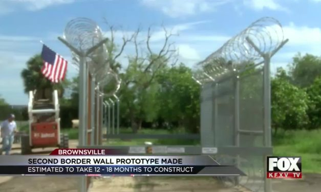 Second Border Wall Prototype Built by Company in Brownsville
