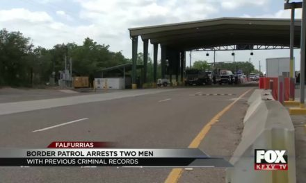 BP Agents Arrest Wanted Men at Checkpoint