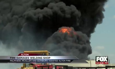 Alton Blaze Damages Welding Shop