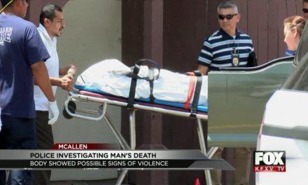 McAllen Police Identify Man Found Dead