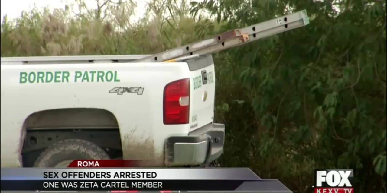 Border Patrol Captures Sex Offenders and Zeta Member