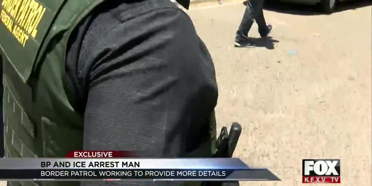 Border Patrol and ICE Arrest Man in Mission