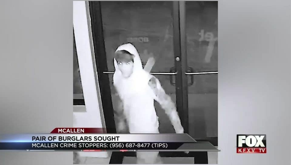 McAllen Police Search for Cell Phone Store Burglars