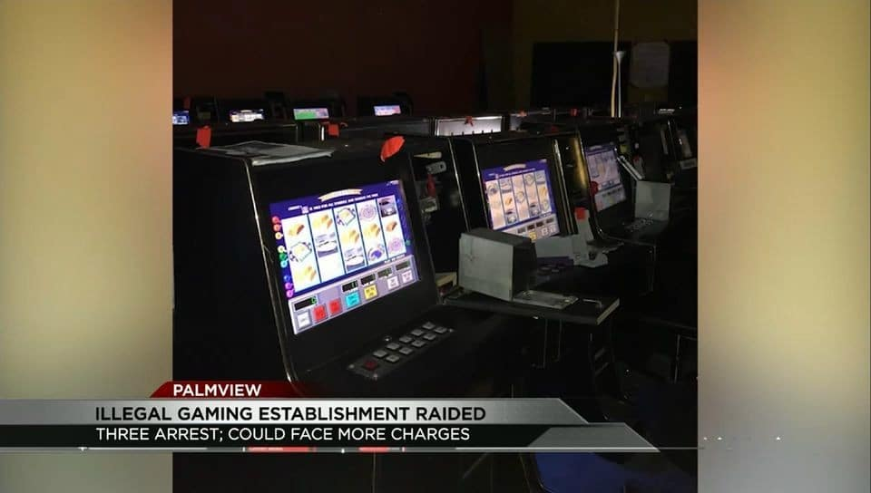 Illegal Gaming Establishment Raided in Palmview