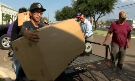 Fox News South Texas kicked off day one of our four day supply drive to help victims of Hurricane Harvey
