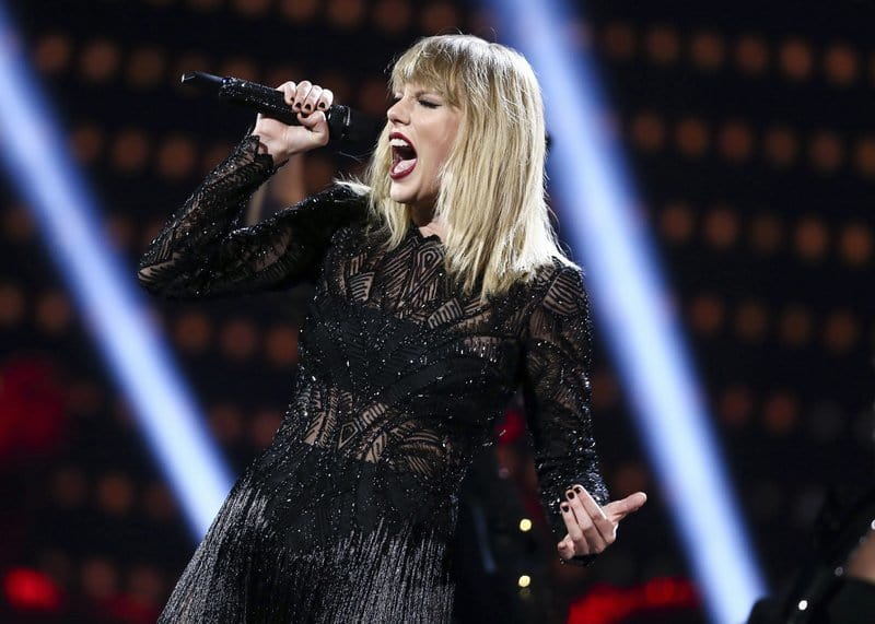 Taylor Swift single keeps 'Despacito' from breaking Mariah record