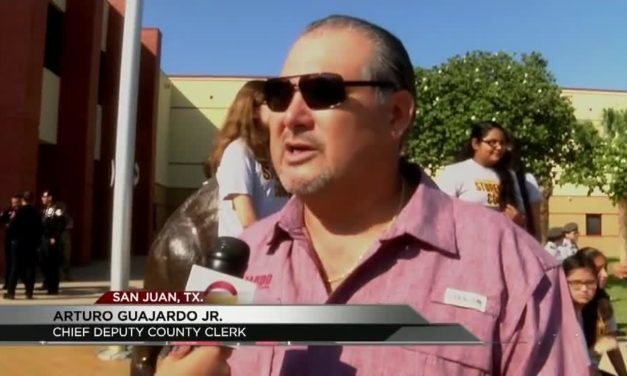 San Juan Students gathered on the 16th anniversary of 9/11