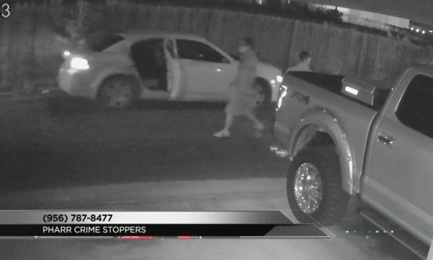 Suspects Caught on Camera burglarizing multiple vehicles in Pharr