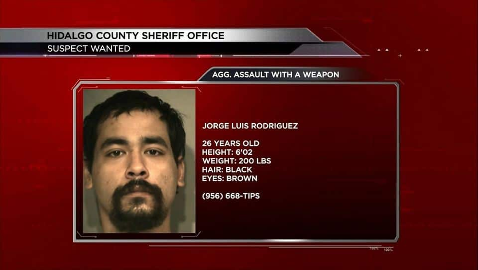 Sheriff's Office Looking for Jorge Luis Rodriguez; wanted for alleged assault
