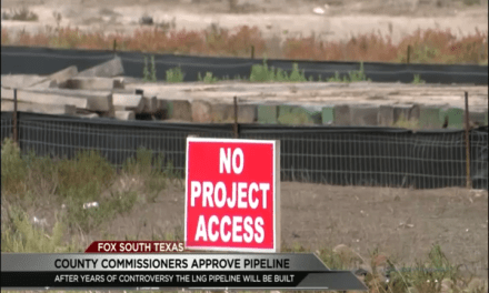 Rio Grande LNG Pipeline Construction Approved