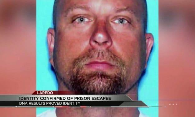 DNA Confirms identity of Prison Escapee
