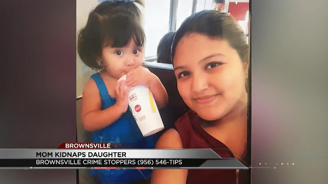 Brownsville Police searching for a woman accused of kidnapping her own daughter