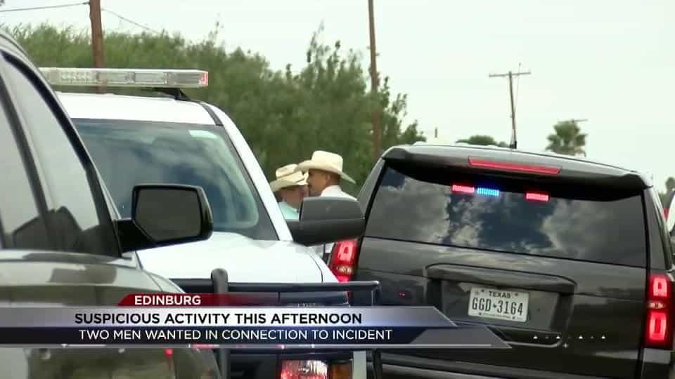 Hidalgo County Sheriff's searching for two men in connection to a possible robbery