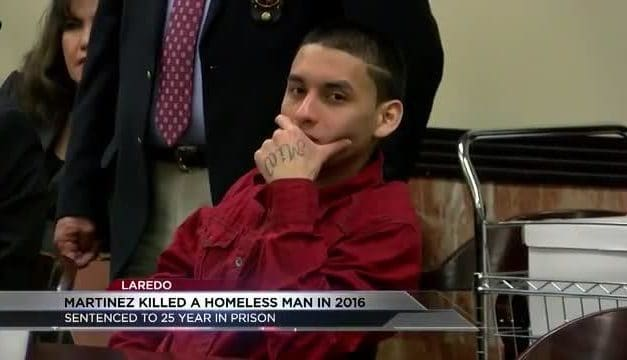 Laredo man accused of beating and killing a homeless man sentenced