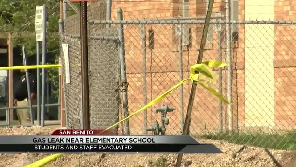 Gas pipe leak causes San Benito School to evacuate